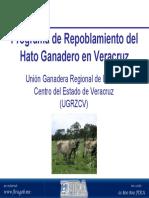 Programa de Repoblamiento Del Hato Ganadero en Veracruz