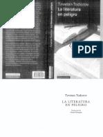 Todorov La.literatura.en.Peligro