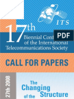 Its 08 Call for Papers for Web