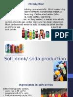 Soft drink/ soda production