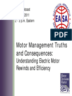 EASA Motor Repair Slides