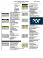 Academic Calendar 2015-2016 - Revised Sept 29 2015