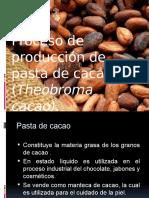 Proceso para la producción de pasta de cacao (1).pptx
