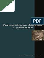 Depatriarcalizacion Rev