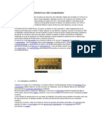 Antecedentes Históricos Del Computador