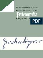 Arévalo Jordán, Víctor - Introducción a La Paleografía