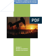 Centrales de Energía en México y Políticas Que Pueden Impulsar La Producción de Energía