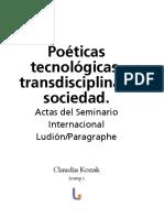 Ludion Actas Tecnopoeticas