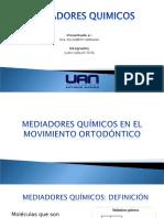 MEDIADORES QUIMICOS Ortodoncia