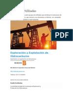 Empresas Afiliadas Al Industria de Petroleo