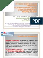 El Hibridismo en Las Pru00c1cticas Inter Transdisciplinarias
