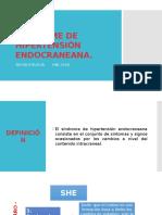 Sindrome de Hipertension Endocraneana