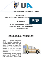 Conversion de Un Motor a GNV