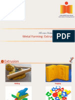 ME2030_20160329- Metal Forming- Extrusion
