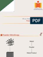 ME2030_20160404- Powder Metullurgy