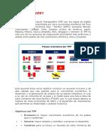 Acuerdo de Cooperacion e Intercambio tpp