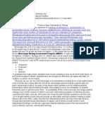 position paper  standardized testing