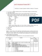 Tutorial Merakit Style Di Keyboard Roland BK 5.pdf