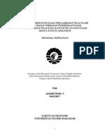 Pengaruh Restitusi Pajak an Nilai Wajib Pajak Badan Terhadap Penerimaan Pajak an Nilai Pada Kantor Pelayanan Pajak Madya Di Kota Makassar