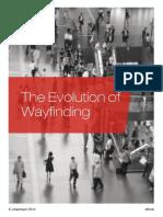 The Evolution of Wayfinding