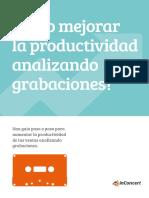 eBook-Como Mejorar La Productividad Analizando Grabaciones-SP