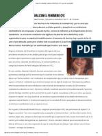 Mujeres Militantes Analizan El Fenómeno CFK _ La Otra Voz Digital