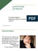 05 - Modernity and Beyond