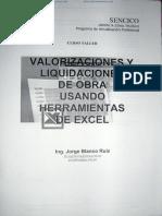 Valorizaciones y LiquidaciAones de Obra (1)