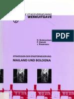 Strategien Der Stadterneuerung Mailland Und Bologna