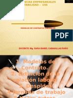 Semana 11 Modelos de Contratos