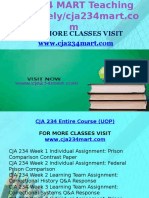 CJA 234 MART Teaching Effectively/Cja234mart.com