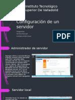 Configuración de Un Servidor