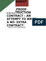 No Extra Contract.
