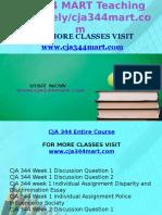 CJA 344 MART Teaching Effectively/Cja344mart.com