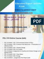 POL 310 AID Education Expert / pol310aid.com