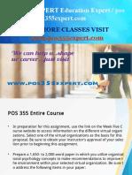 POS 355 EXPERT Education Expert / pos355expert.com