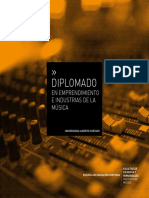 Diplomado en Emprendimiento e Industrias de La Musica