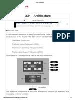 GSM - Architecture.pdf