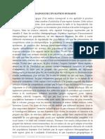 LE PARADOXE DE L'EVOLUTION HUMAINE _Résumé