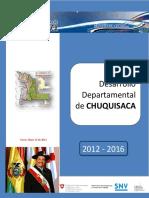PLAN DE DESARROLLO DEPARTAMENTAL DE CHUQUISACA