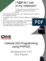 Asterisk AGI Programming