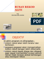 Sistem Rekod