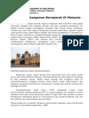 Bangunan Bersejarah Di Malaysia