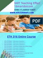 ETH 316 MART Teaching Effectively Eth316martdotcom