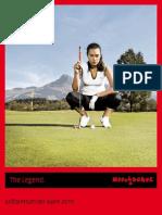 Kitzbühel Golf Folder - DE