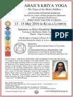 Initiation Weekend Seminar