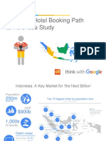 Indonesia Hotel Bookings Research studies