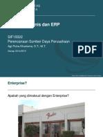 ERP 20142015 02. Dasar Pengertian ERP