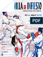 2016 I Copa Kumite Villa Infiesto Resultados Oficiales