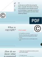 copyright poster powerpoint